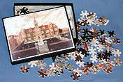 personalised jigsaw puzzle ready for packing