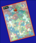 personalised jigsaw puzzle packaged in wallet